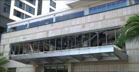 En video: los devastadores destrozos en lujosos hoteles tras las explosiones en Sri Lanka