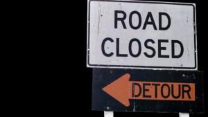 Cierres nocturnos en Autopista 5 por trabajos de demolición