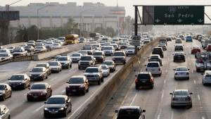 Volando al trabajo para evitar el tráfico de Los Ángeles