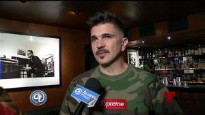 Juanes aún se pone nervioso en el escenario