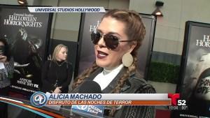 Alicia Machado confiesa sus miedos