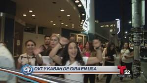 OV7 y Kabah juntos en Los Ángeles