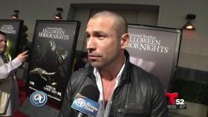 Rafael Amaya en Halloween Horror Nights