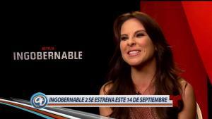 Kate del Castillo regresa ingobernable