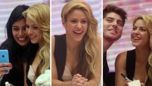 Shakira alborota a Chile en presentación de perfume