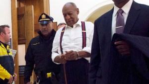 Sentencian a Bill Cosby a un mínimo de 3 años de prisión