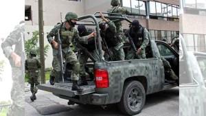 Militares frenan entrega de armas al crimen organizado