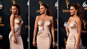 El glamour en la alfombra roja de los Emmys