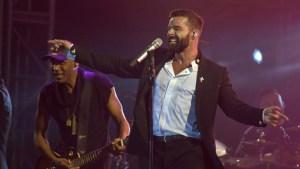 Ricky Martin ofrece explosivo concierto a premios Nobel