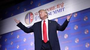 """Trump: EEUU frenará """"juegos de guerra"""" con Corea del Sur"""