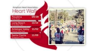 Caminata por el corazón  en Pasadena