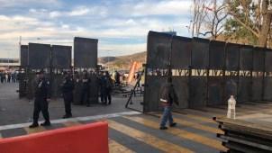 Refuerzan la frontera mexicana ante caravana de migrantes