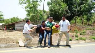 """Por """"su seguridad"""", México impide libre paso de migrantes"""
