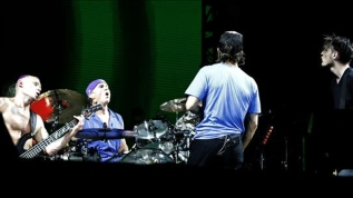 Banda de rock Red Hot Chili Peppers.