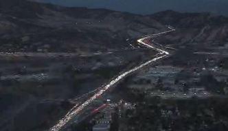 Un muerto en accidente múltiple en Autopista 5