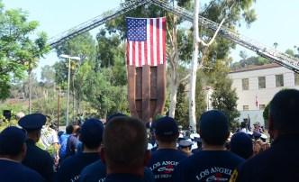 Conmemoran víctimas del 11 de Septiembre en sur de CA