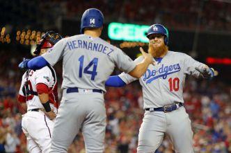 Dodgers derrotan a los Nacionales 10-4