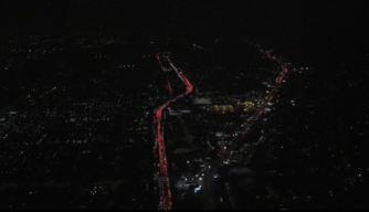 Patrulla del CHP atropella a hombre en Autopista 101