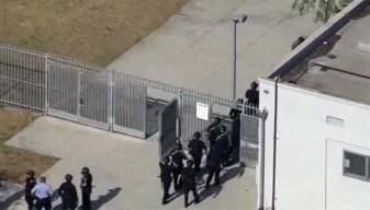 Policía interviene en varias peleas en preparatoria