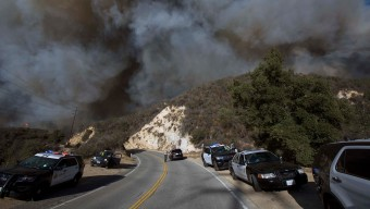 Incendio Woolsey sigue afectando calidad del aire