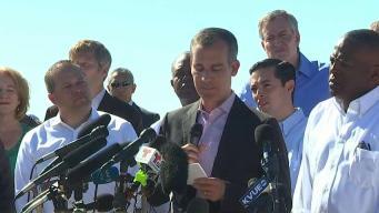 Alcaldes protestan la separación de familias en la frontera