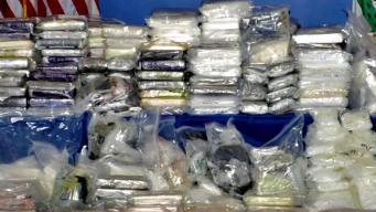 Arrestan a 13 por presunto tráfico de drogas en LA