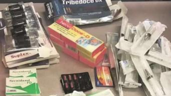 Acusan a decenas de importar miles de fármacos ilegales