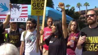 Protestan en contra de la separación familiar