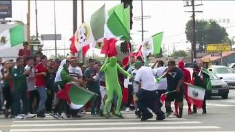Celebraciones por México siguen dejando arrestos