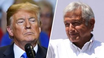 AMLO asegura que Trump quiere invertir en el Tren Maya