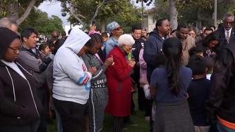 Comunidad pide un alto a la violencia tras tiroteo