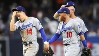 Dodgers vencen a Padres en 10; Jansen desperdicia salvamento