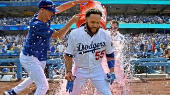 Dodgers reaccionan en el 9no, vencen 2-1 a Cardenales