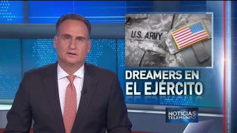 Dreamers en las Fuerzas Armadas no seran deportados