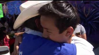 Concejal de Los Ángeles organiza reunificación familiar