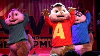 Alvin y Las Ardillas reciben estrella en Hollywood