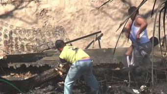 Siniestro deja sin hogar a familias en Tijuana