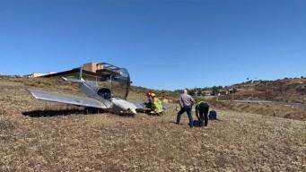 Se estrella avioneta cerca de casino en Jamul