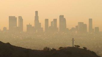 Aviso sobre mala calidad del aire para el área de Los Ángeles