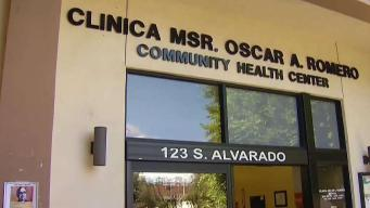 La clínica del Monseñor Romero en Los Ángeles