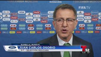 Los directores técnicos de México y Panamá hablan del sorteo