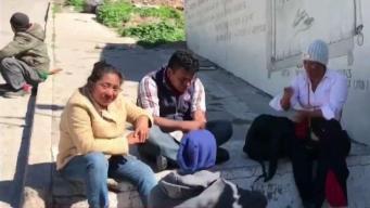 Migrantes de la nueva caravana llegan a Tijuana