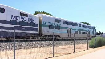 Muere mujer arollada por un tren de Metrolink en Sylmar