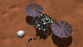 """Módulo InSight registra primer """"aparente"""" sismo en Marte"""
