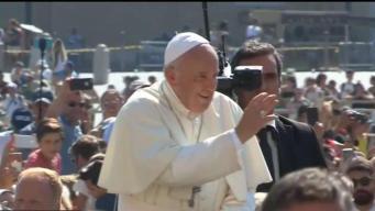 Papa consternado por inmigrantes ahogados