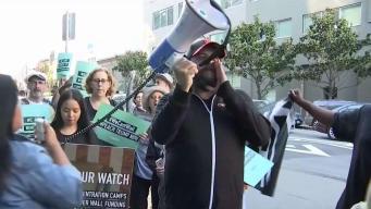 Protesta en California: piden a Nancy Pelosi que encabece proceso para destituir a Trump