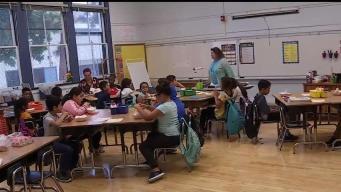 Primer día de clases para estudiantes del LAUSD