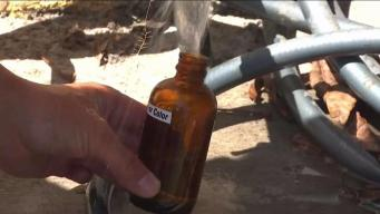 Vecindario indignado por agua contaminada