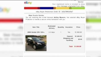 Resultó estafado al querer comprar un auto