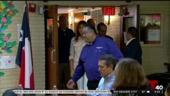 Melania Trump visita de sorpresa un albergue en Texas
